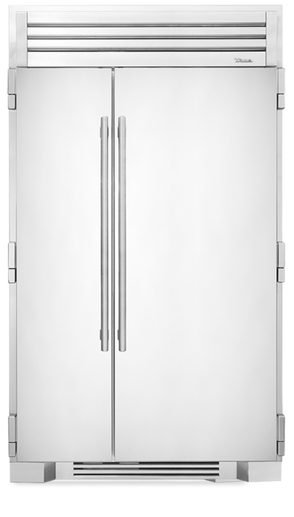 Full Size Refrigerator 48 Inch Stainless Doors Our Side By Is More Than 29 4 Cubic Feet Of Stylish Steel Refrigeration The True